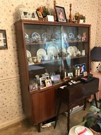 Mid Century china hutch by Stanley