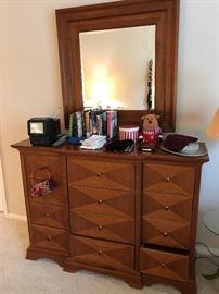 Nice Dresser and Mirror