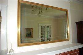 """Vintage Gold Framed Beveled mirror- 50.5""""x32.75"""""""
