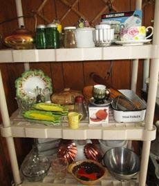 Vintage kitchen collectibles