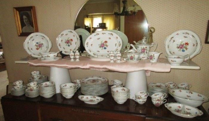 Antique china set