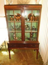 Vintage Dining room china cupboard