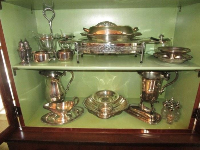 Vintage silver plate