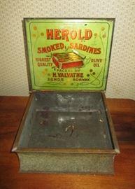 Norwegian Herold Smoked Sardines tin