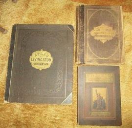 Livingston County Historical books