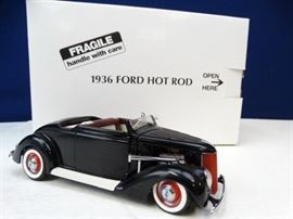 1936 Ford Hot Rod Model Die Cast Car