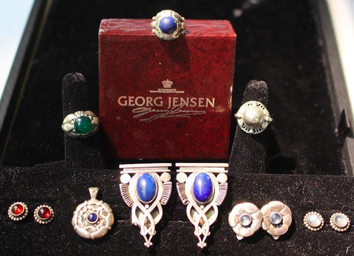 Collection of vintage Georg Jensen