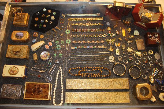 Fine jewelry, Tiffany Studios, Music boxes, Tonnel Clock