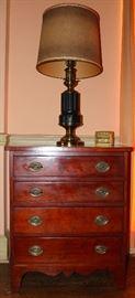 Antique bachelors chest
