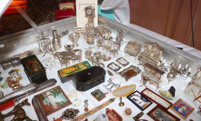 Eugene Kupjack artisan sterling silver miniatures