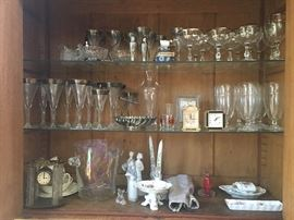 Collectibles, glassware