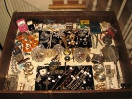 Jewelry, watches, knives, etc...