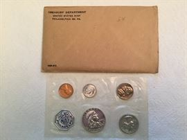 1958 Treasury Dept. Proof Set (1 only)