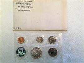 1965 Treasury Dept. Proof Set (4(