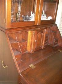 Inside view of the Secretary Desk