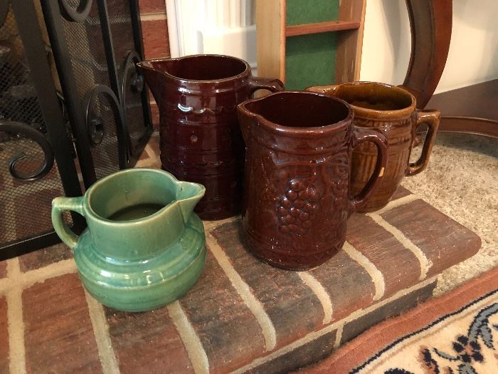 Green pitcher sold
