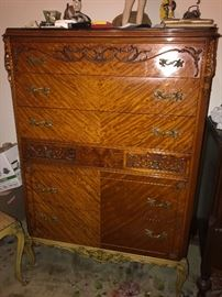 Matching antique dresser