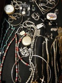 JEWELRY INCLUDING SILVER