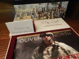 "AMERICAN HEROES ""SIGNED"" BY OLIVER NORTH"