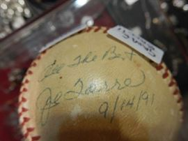 GAME BALL SIGNED BY JOE TORRE