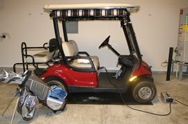 2009 Yamaha YDRE  Golf Cart with all the bells & whistles .  New Battery  Rarely used.    asking 2950.00 or Best Offer!!