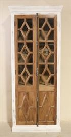 Iron Butterfly double door cabinet