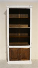 Iron Butterfly 2 part open bookcase