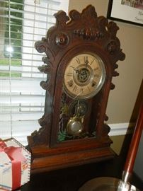 Antique Kitchen Clock