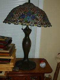 Beautiful Art Glass Lamp
