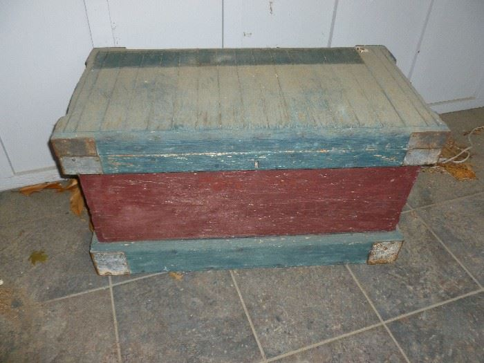 Awesome antique trunk