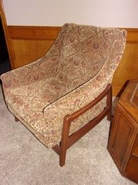 1968 Mid Century Modern Paoli His Hers Upholstered Rocking Chairs - a Pair