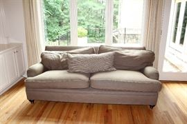 Upholstered sofa ($780)