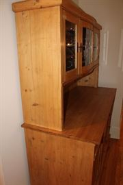 Antique european (Dutch) kitchen hutch ($325)