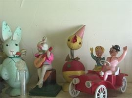 Antique Toys,Easter Candy Containers