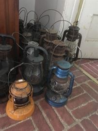Large Collection of Lanterns