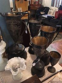 Local Fredericksburg ,Va. Trophies / Loving Cups