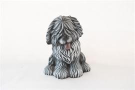 Shaggy Dog Ceramic