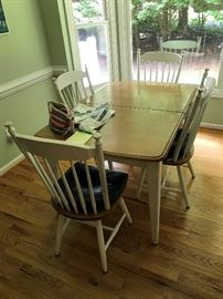 Table / 4 Chairs $ 220.00