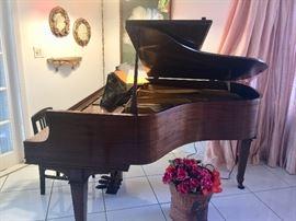 Wm. Knabe Baby Grand Piano