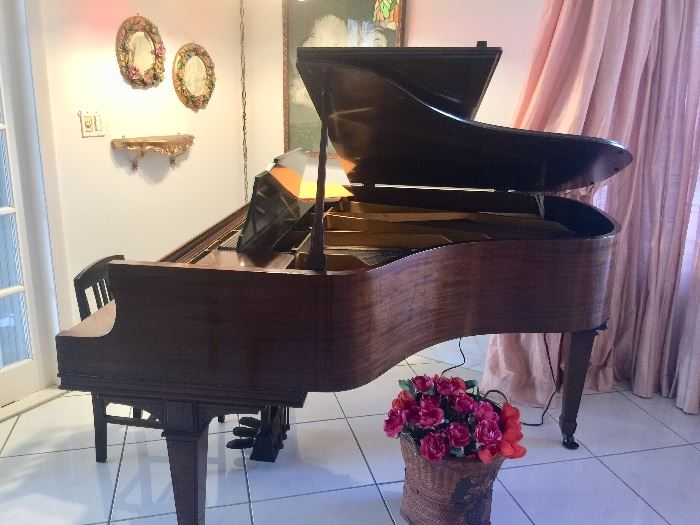 Wm. Knabe Baby Grand Piano