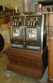 Mills double nickel slot machine.  Play both sides