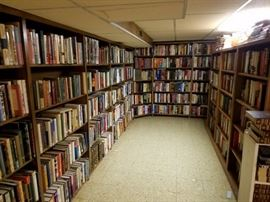 Book collection - Left Side