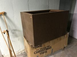 A box in the basement