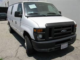 2011 Fore E150 Cargo Van