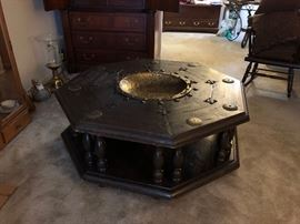 1960s Octagonal Table - rare