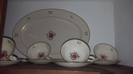 $140, plus serving pieces - Noritake china