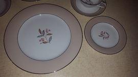 $140, plus serving pieces  Noritake china