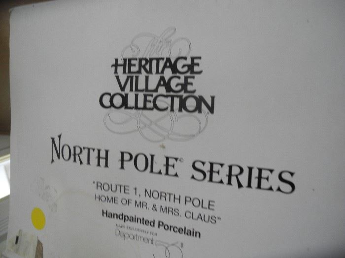 North Pole Series - Dept 56
