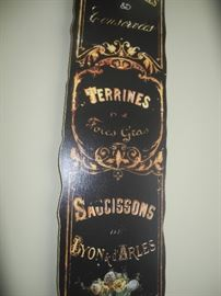 French wall piece