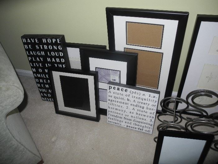 Frames and saying pics